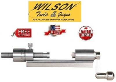 L.E. Wilson Micrometer Case Trimmer Stainless Steel CTSS-MIC Brand New FREE SHIP