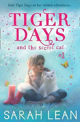 Secret Cat by Sarah Lean Paperback Book Free Shipping!