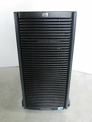 "HP ML350 G6 Tower, 1 x 2,4 GHz E5620, 16 GB, 2x 300GB 2,5"", 410i/512, DVD, 2x PS"