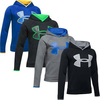 Under Armour Boys' Armour Fleece Big Logo Running Sports Lightweight Hoodie