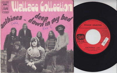 WALLACE COLLECTION * 1971 Belgian PROG PSYCH POPSIKE 45 * Listen!
