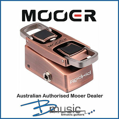 Brand NEW Mooer Red Kid Talking Wah Pedal - Authorised Australian Mooer Dealer