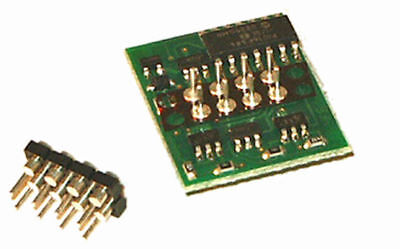 NCE D14SR HO Scale DCC Decoder 6 Function Plug-in 524-103