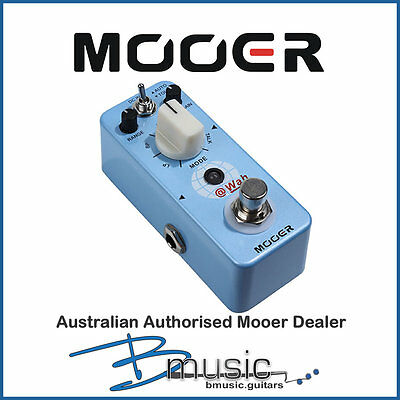 Brand NEW Mooer @Wah Digital Auto Wah Pedal - Authorised Australian Mooer Dealer