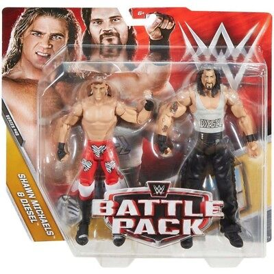 Wwe Wwf Mattel Battle Pack 48 Hbk Shawn Michaels & Diesel Figure Set New!!!!!!!!