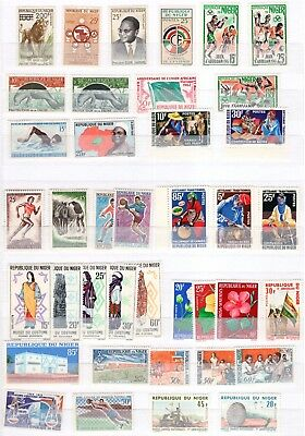 A37871/ Niger / Lot 1959 - 1985 Neuf **/* / Mint Mnh/mh 107 €