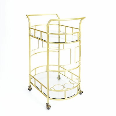 Red Barrel Studio Boswell 2-Tier Bar Cart