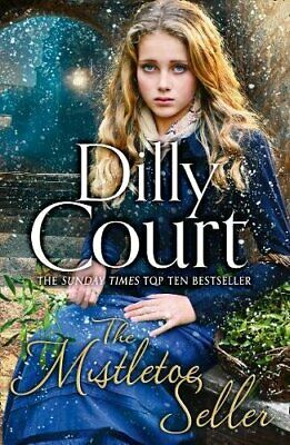 The Mistletoe Seller by Court, Dilly Book The Cheap Fast Free Post