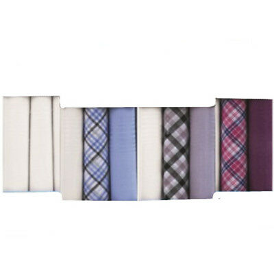 3 Pack Mens Handkerchiefs Hankies Hankerchiefs Cloths 100% Pure Cotton Suit Gift