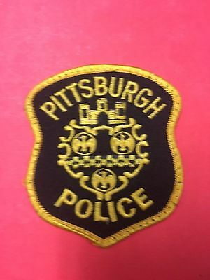 Pittsburgh Pennsylvania  Police Shoulder Patch