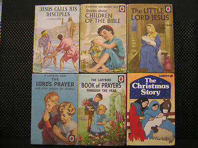 Ladybird Books - Selection of 6 Christian Religion Books. Jesus Bible Prayer