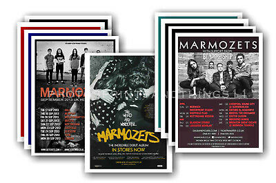 MARMOZETS - 10 promotional posters  collectable postcard set # 1