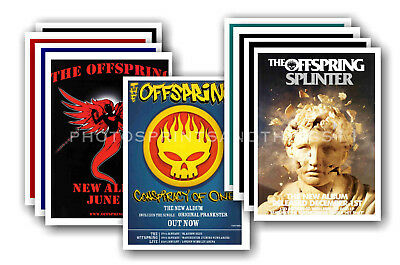 THE OFFSPRING - 10 promotional posters  collectable postcard set # 1