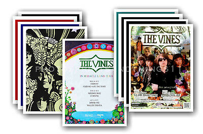 THE VINES - 10 promotional posters  collectable postcard set # 1