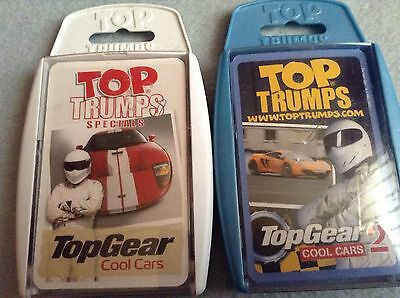 top gear trading card bundle.