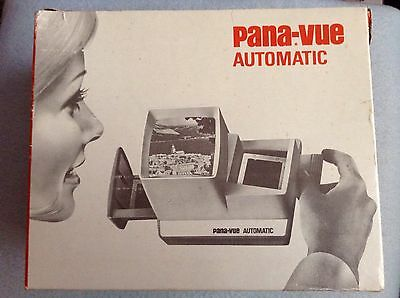 pana-vue automatic. Vintage Slide Viewer In It's Original Box.