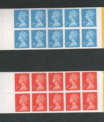 First 1st & Second 2nd Class Mint Postage Stamps - Full Gum / Self Adhesive