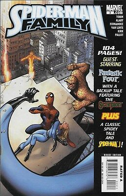 Spider-Man Family No.3 / 2007 Fantastic Four The Scorpion Spider-Man Japan