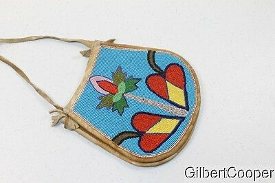 Flathead Indian Beaded Purse