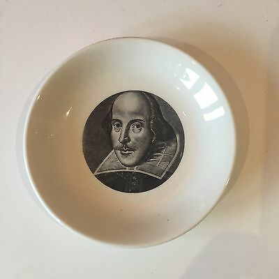 Vintage Retro 1960s 60s Holkham Lidor WH Smith Shakespeare Exhibition dish plate