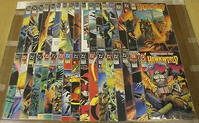 Hawkworld (1990 DC) #1-32 + Annuals Complete Set High Grade