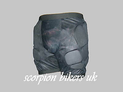 Skiing Snowboarding Impact Shorts Body Armour XL