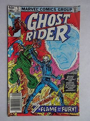 Ghost Rider #72   1st Appearance The Circus of Crime   Bob Budiansky