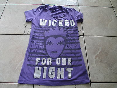 Disney Snow White and Seven Dwarfs Evil Wicked Queen T Shirt XS X-Small S Small