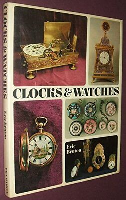 Clocks and Watches by Eric Bruton Book The Cheap Fast Free Post