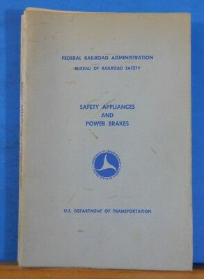 Safety Appliances and Power Brakes 1970 October Federal Railroad Administration