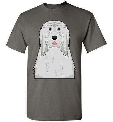 Bearded Collie Dog Cartoon T-Shirt Tee - Men Women Ladies Youth Tank Long Sleeve