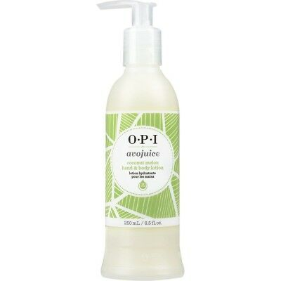 OPI Avojuice Skin Quenchers Hand & Body Lotion ~ COCONUT MELON 250ML ~