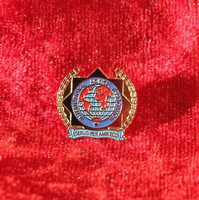 PIN IPA International Police Association 19mm