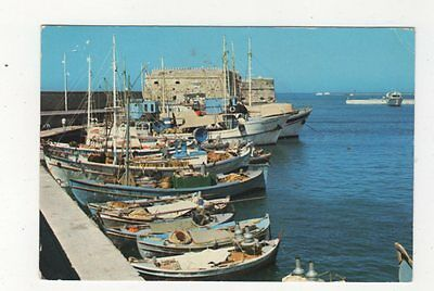 Heraclion Candia The Old Port 1976 Postcard Greece 592a