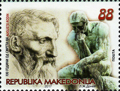 Macedonia / 2017 / Art / The 100th Anniversary of the death of Auguste Rodin
