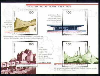 Germany 1997 Buildings/Architecture/Design/Church/EXPO/Music 4v m/s (n28072)