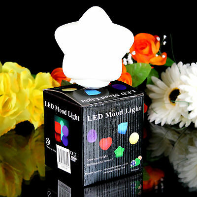 7cm LED Mood Star, Sensory, Color Changing, Gift