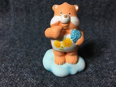 1984 American Greetings Care Bears Designers Collection Figure- FRIEND BEAR