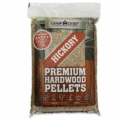 Camp Chef Smoker Grill Premium Hickory Barbecue Hardwood Pellets, 20 Pounds