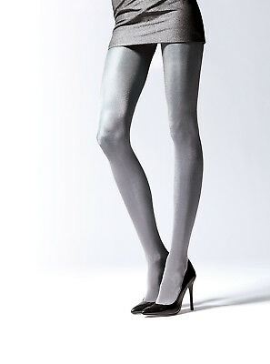 Plus Size Lady Women Glossy Metalic Effect Thicker Tights Hosiery for Autumn T45