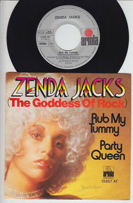 Zenda JACKS * 1974 UK GLAM Rock Girl * German 45 * Listen!