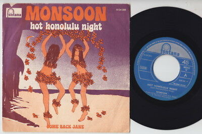 MONSOON * 1973 UK BUBBLEGUM GLAM POWER POP * Belgian 45 * Listen!