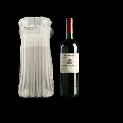 5 PCS Inflatable Cushion Wrap Air Column Rolls Bubble Packaging For Wine Bottle