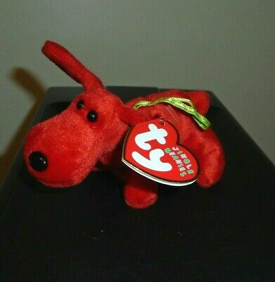 "Ty Jingle Beanie Baby ~ ROVER the (5"") Dog ~ MINT with MINT TAGS"
