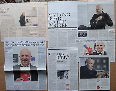 Richard Flanagan - clippings/cuttings/articles - Man Booker Prize winner