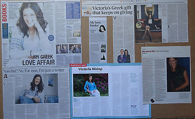 Victoria Hislop - clippings/cuttings/articles pack