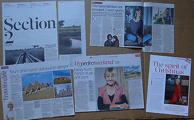 Kate Mosse - clippings/cuttings/articles pack