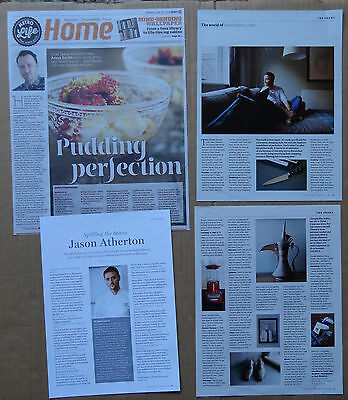 Jason Atherton - clippings/cuttings/articles pack