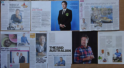 John Torode - clippings/cuttings/articles pack