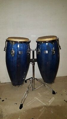 Performance Percussion Conga Drum Pair Inc. Stand PP CO NG A2